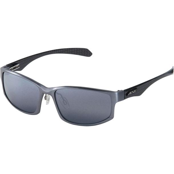 スポーツサングラス 偏光レンズ【AXE】アックスマルチSPサングラス(ASP388-GM)*12