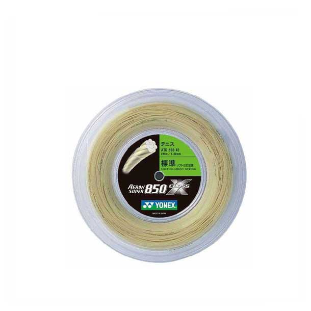 エアロンスーパー850クロス(240m)【Yonex】ヨネックスバドミントガツト(ATG850X2-659)*20