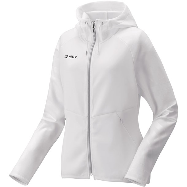ウィメンズニットウォームアップパーカー【Yonex】ヨネックステニストレーニングシャツ W(57051-011)*20