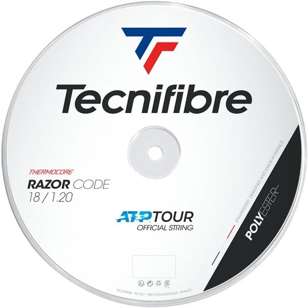RAZOR CODE 1.20 200M【tecnifibre】テクニファイバーテニスコウシキ ガツト(tfr400-cb)*20