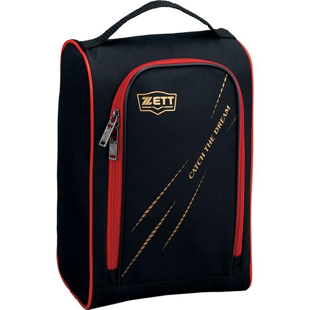 シューズケース 通常便なら送料無料 未使用品 ZETT ゼットヤキュウソフトシューズケース 20 ba1421-1964