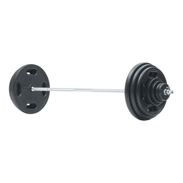 28φラバーバーベル100kgセット【Evernew】エバニューボディケアグッズソノタ(ETB383)*20