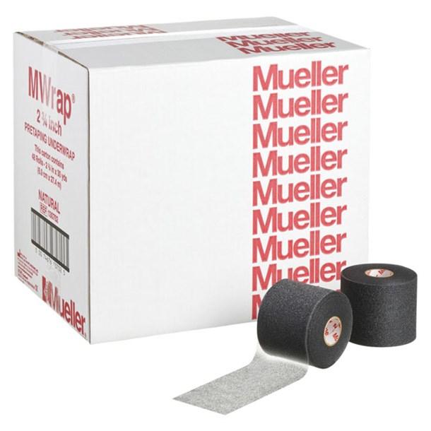 Mラップカラービックブラック 48コイリ【mueller】ミューラーボディケアテーピング(130707)*19