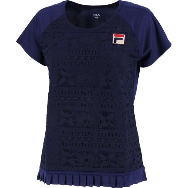 91 ゲームシャツ【fila】フィラテニスゲームシャツ W(vl1927-20)*09