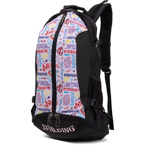 ケイジャー -スーパーガールspalding(スポルディング)バスケットバッグ(40007sg)*10