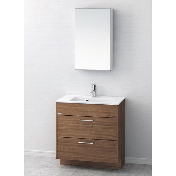 洗面台 おしゃれ 洗面化粧台 間口750mm アサヒ衛陶 アール LKEA750AFNJMM45