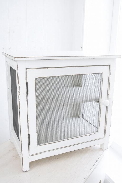 コベントガーデン メッシュ・ホワイトキャビネット  ix-61