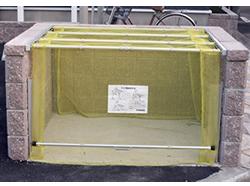 ダイケン クリーンストッカー ネットタイプ CKA-1612 幅1600×奥行1200×高さ1600mm お客様組立品