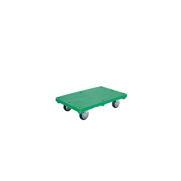 シシクアドクライス 運搬台車 プラスチック製 ハンドルなし MR-SMG Mタイプ キャスター:ゴム車輪付