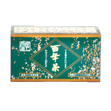 クコの実も入ってます 33種類もの山野草がバランス良く配合 百年茶 ※アウトレット品 緑箱 7.7g×30袋 信用