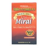 植物性乳酸菌 マイクロ熟成エキス Mirai(ミライ)100粒
