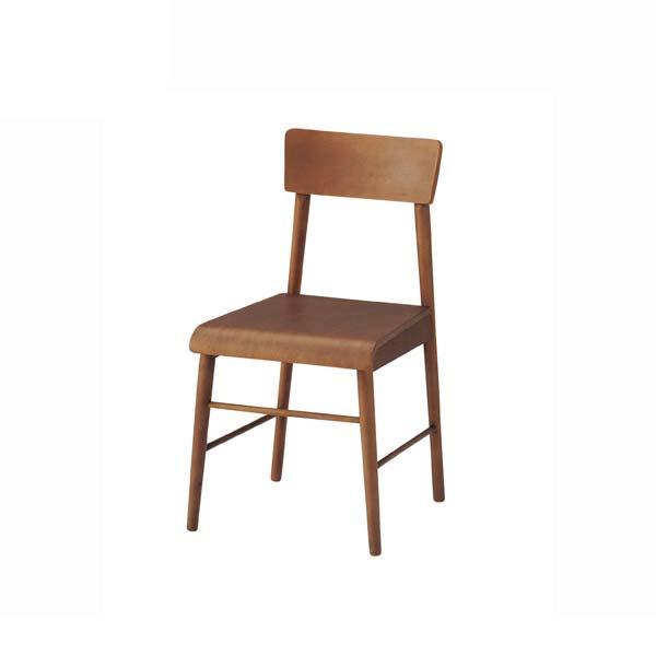 ダイニングチェア 幅43.5cm 奥行47cm 高さ78cm ブラウン ラバーウッド ウレタン塗装 チェア 椅子 RS-C3840 インテリア 家具 雑貨 セール 送料無料 ヴィヴェンティエ