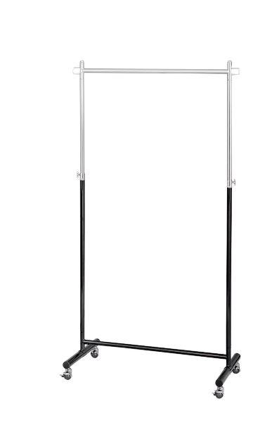 スマートフレームハンガー 幅89.5cm 奥行43.5cm 高さ114(160)cm スチール(粉体塗装) 組立式 MH-895(BK) UTILITY 弘益 インテリア 家具 雑貨 セール 送料無料 ヴィヴェンティエ