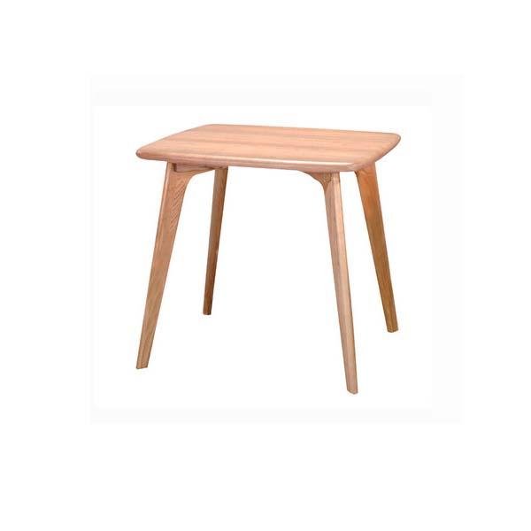 ダイニングテーブル 幅80cm 奥行70cm 高さ72cm ダイニングテーブル 天然木 アッシュ材 長方形テーブル 食卓テーブル CL-816TNA インテリア 家具 雑貨 セール 送料無料 ヴィヴェンティエ