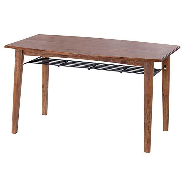 ダイニングテーブル 幅130cm 奥行75cm 高さ72cm 天然木 ミンディ材 食卓テーブル レトロ ナチュラル デザイン シンプル ティンバー Timber PM-304T インテリア 家具 雑貨 セール 送料無料 ヴィヴェンティエ