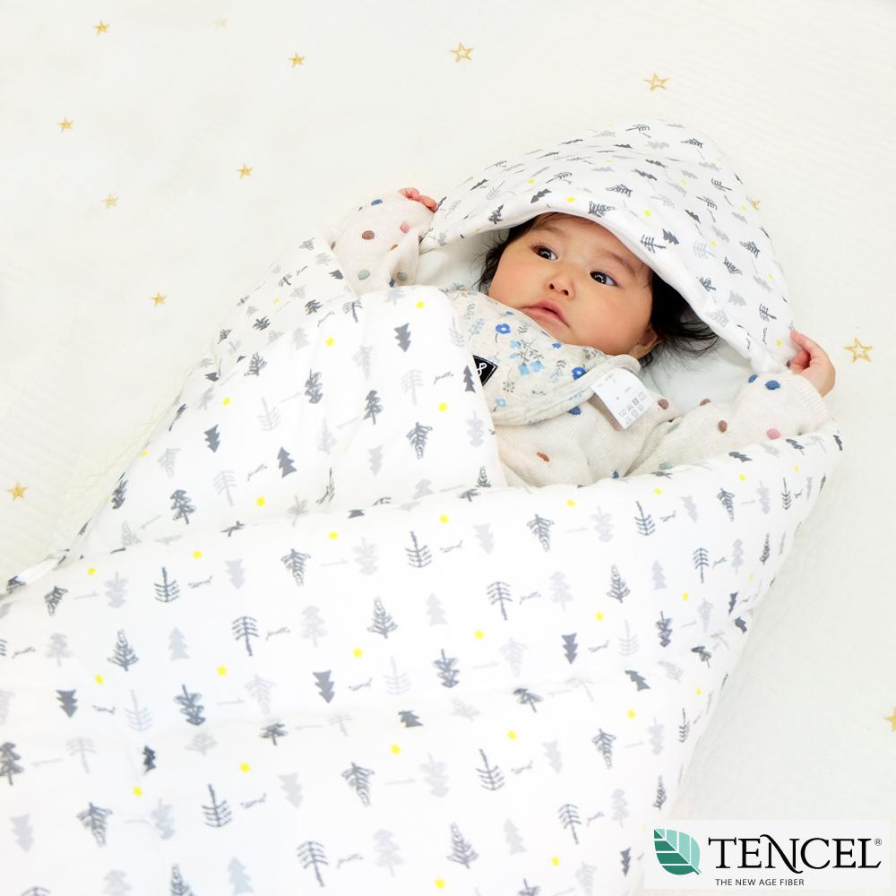 正規品おくるみ ベビー 赤ちゃん 天然素材テンセル おしゃれ TREE JOATTE 出産祝い 出産準備 乳幼児 ブランケット 秋 冬 春w08POnk