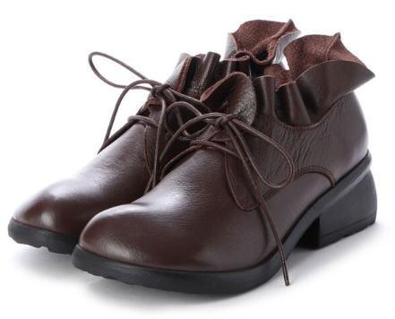 Hina Green Label レースアップシューズ 靴 レディース 婦人靴●送料無料