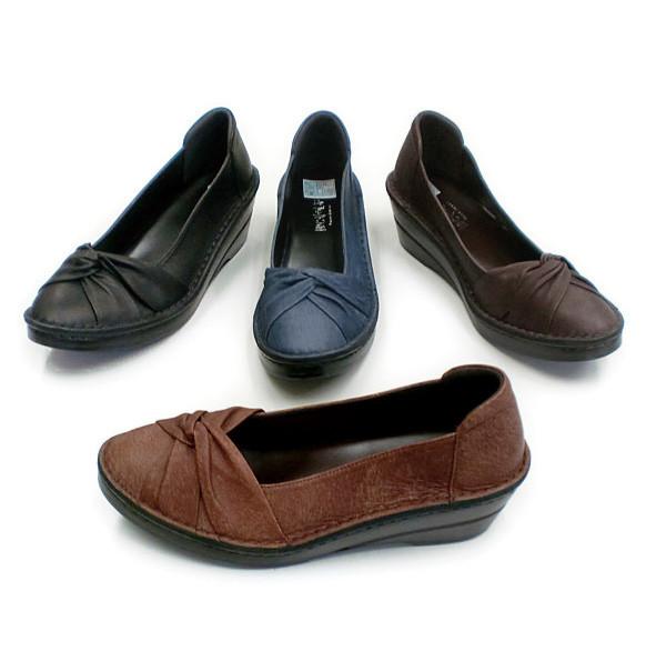 In Cholje(インコルジェ) 足に優しい靴 ターバンリボンパンプス(3232)日本製 靴 レディース 婦人靴●送料無料