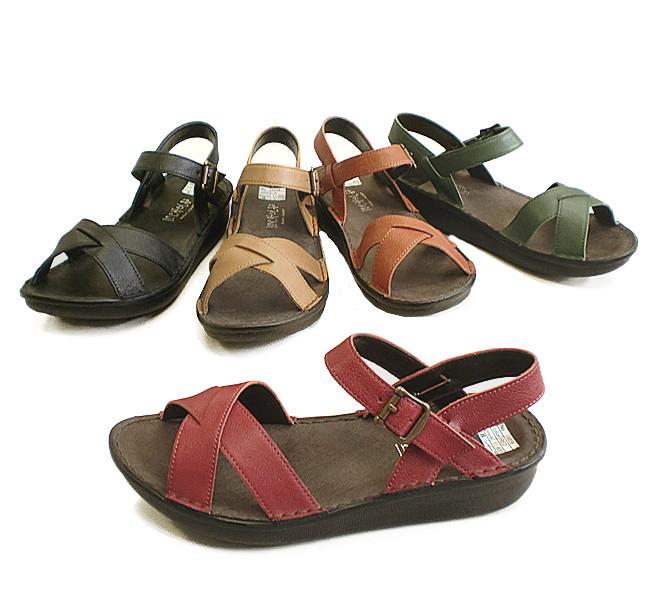 In Cholje (インコルジェ)足に優しい靴 本革 バックバンドサンダル(8859)日本製 靴 レディース 婦人靴●送料無料