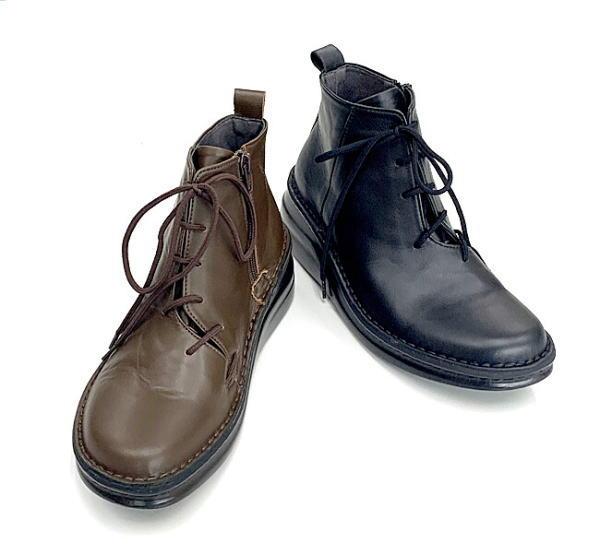 In Cholje(インコルジェ)足に優しい靴 レースアップブーティー(8752)  靴 レディース 婦人靴●送料無料