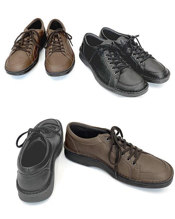 In Cholje(インコルジェ) 足に優しい靴 紳士靴 レースアップカジュアル シューズ  靴 メンズ 紳士靴●送料無料