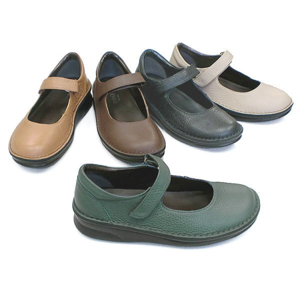 In Cholje(インコルジェ) 足に優しい靴 本革!甲ストラップシューズ(8571)日本製 靴 レディース 婦人靴●送料無料