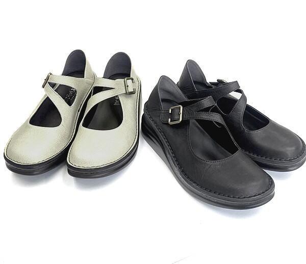 ストラップシューズ In Cholje インコルジェ 足に優しい靴 国際ブランド ストラップレザーシューズ 靴 送料無料カード決済可能 婦人靴 87961 レディース 送料無料