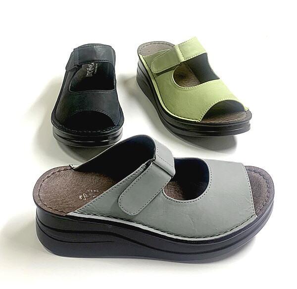ミュール In Cholje インコルジェ 直営店 足に優しい靴 オープントゥーミュール レディース 靴 41721 送料無料 婦人靴 売却