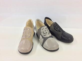 期間限定特別価格 片足180gの超軽量シューズ 外反母趾の悪化防止 商舗 Miss Kyouko ミスキョウコ 4E軽量フラワーメッシュコンフォートシューズ 12045 婦人靴 靴 736-1 日本製 送料無料 レディース