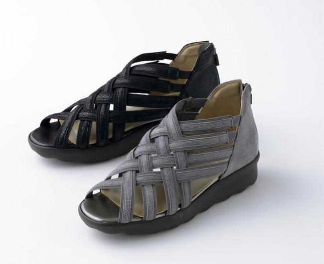 【Miss Kyouko】ミスキョウコ 4E 厚底編み込みサンダル12204(6657) 日本製 靴 レディース 婦人靴●送料無料