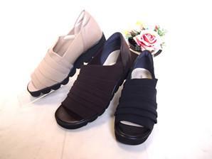 ◆【Miss Kyouko】ミスキョウコ 4Eメッシュストレッチサンダル 12079(2001) 日本製  靴 レディース 婦人靴●送料無料