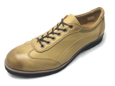 YAMATO ism 奈良産ディアレザースニーカー(内羽根) 日本製 天然皮革  靴 メンズ 紳士靴●送料無料