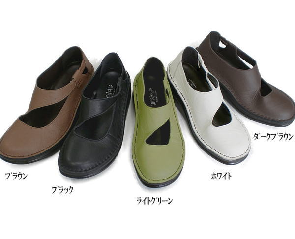 In Cholje (インコルジェ) 足に優しい靴 本革!ストラップシューズ(8472)靴 レディース 婦人靴●送料無料