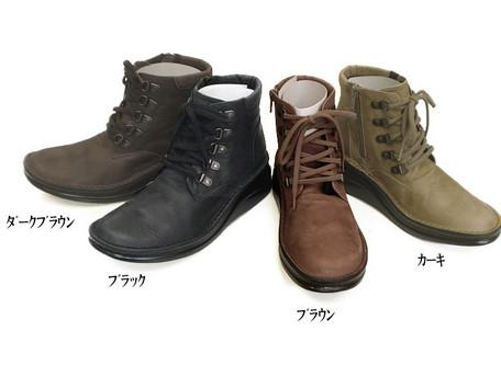 トレッキングブーツ 長く飽きのこないシンプルなシューズ 100%品質保証! In Cholje インコルジェ 足に優しい靴 本革 靴 レディース 送料無料 8434 婦人靴 5☆大好評 日本製