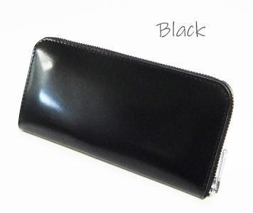 コードバン ラウンドジップロングウォレット【日本製】 財布●送料無料
