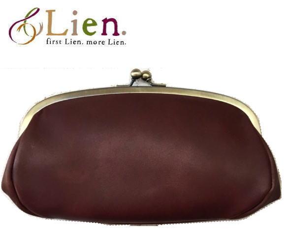 Lien(リアン)ボヘミア親子がま口長財布 <日本製>  財布 レディース ●送料無料