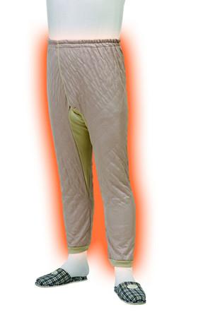 保温パンツ レディース 七分丈 下着 きれいめ 吸湿発熱繊維 ズボン サーモギア 調湿機能 蒸れにくい 部屋着 冷え性 野外作業 レジャー あったかグッズ 日本製