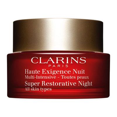 CLARINS クラランス スープラナイトクリームSP オールスキン 50mL 夜用保湿クリーム