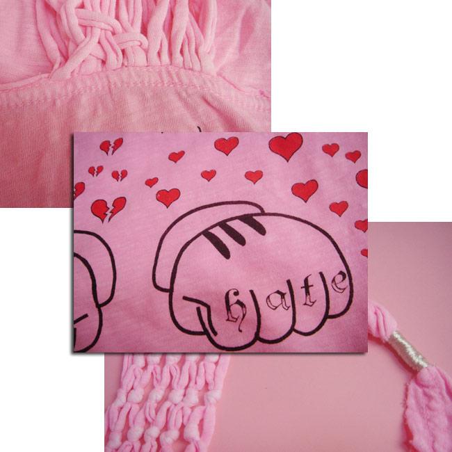 6d05ee246 ... LA celeb favorite brand Sauce source bright pink ♪ ☆ Mickey and Minnie  ☆ tanks