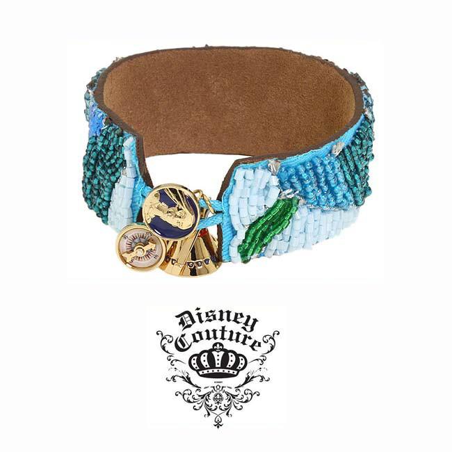 LAセレブ愛用ブランドDisney couture jewelryディズニークチュールジュエリーポカホンタスビーズブレスレット ビーズブレスレット ブルー ボヘミアン ウエスタン 10代20代30代 kitson kキットソン