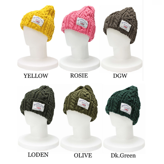 UK departure! highland2000 Highland 2000 simple ♪ knit hat Cap import