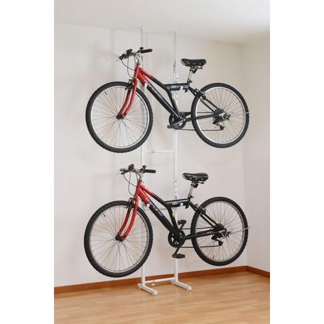 最安 ツッパリ式自転車ラック/室内用/ツッパリ式自転車ラック/ホワイト/引越し/ツッパリ/サイクリング/倉庫/SB-01, Pet goods shop ALCUORE:0726a08d --- tonewind.xyz