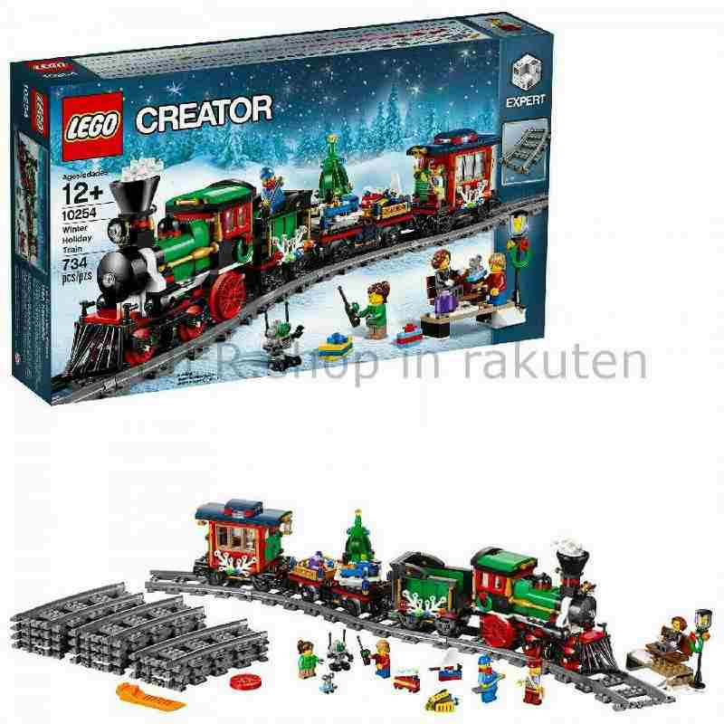 LEGO レゴブロック No.10254/冬のホリデートレイン Christmas Train