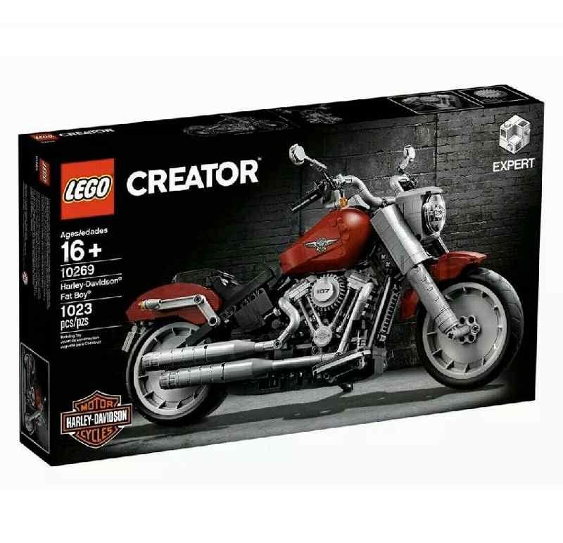 LEGO レゴブロック No.10269/ハーレーダビッドソンファットボーイR Harley-Davidson