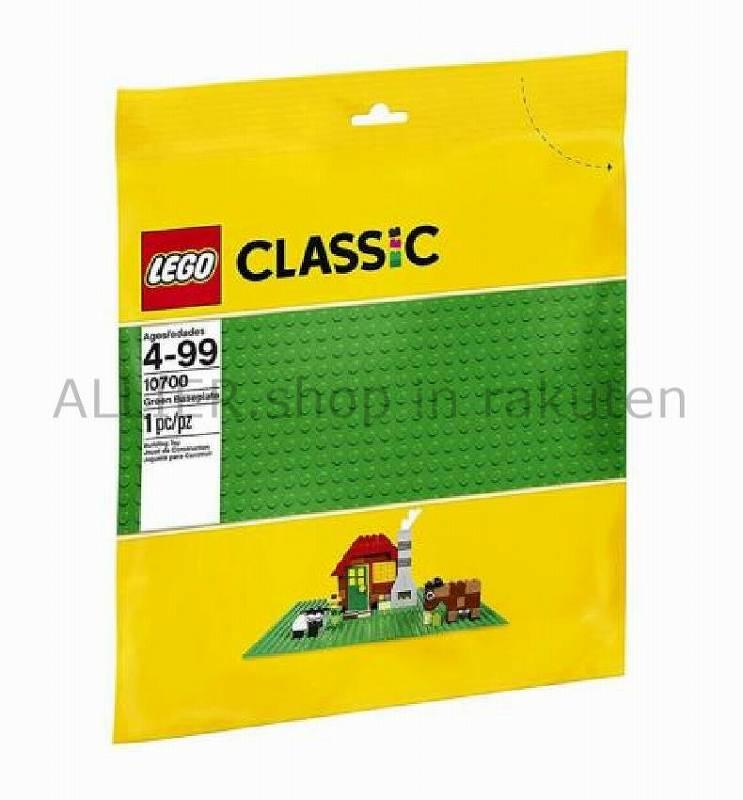 LEGO レゴブロック No.10700/グリーンベースプレート 緑 Base Plate