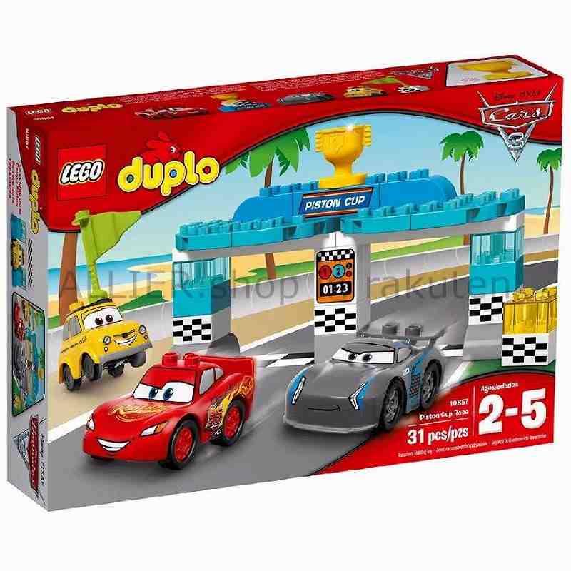 LEGO レゴブロック No.10857/ピストンカップレース Pixar Cars 3 Piston Cup Race