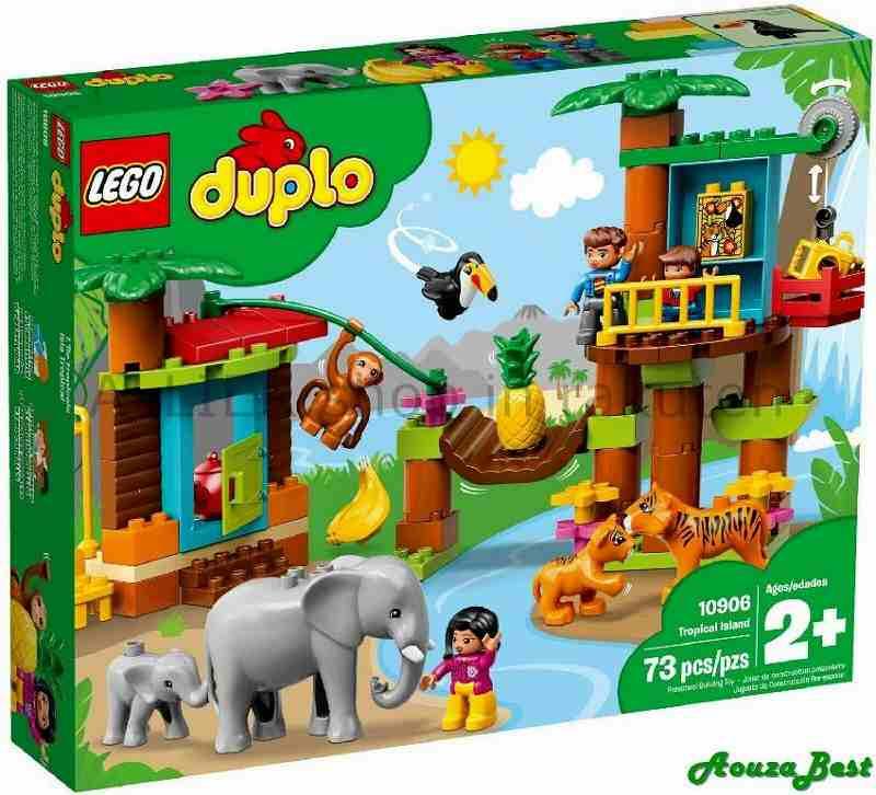 LEGO レゴブロック No.10906/トロピカルアイランド Tropical Island