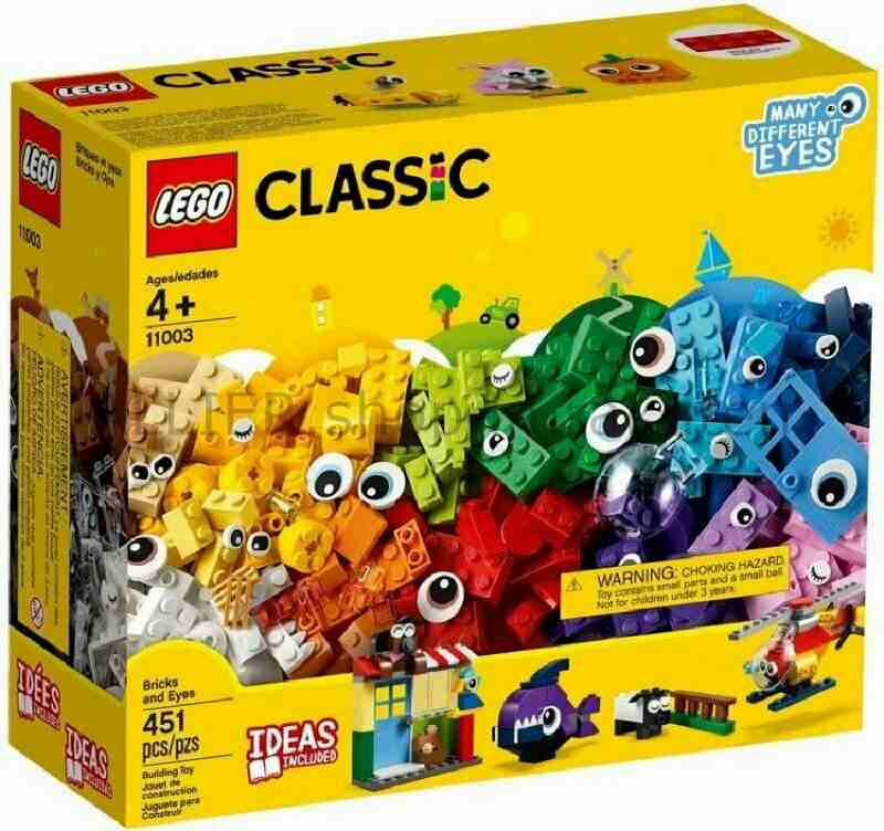 LEGO レゴブロック No.11003/レンガ&アイ Bricks and Eyes