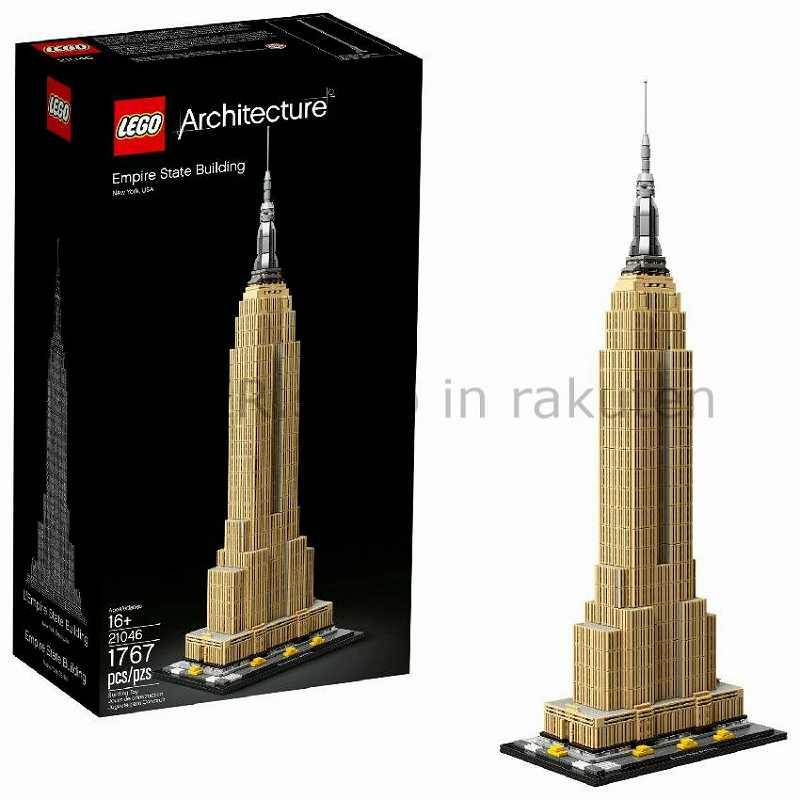 LEGO レゴブロック No.21046_エンパイアステートビル Empire State Building