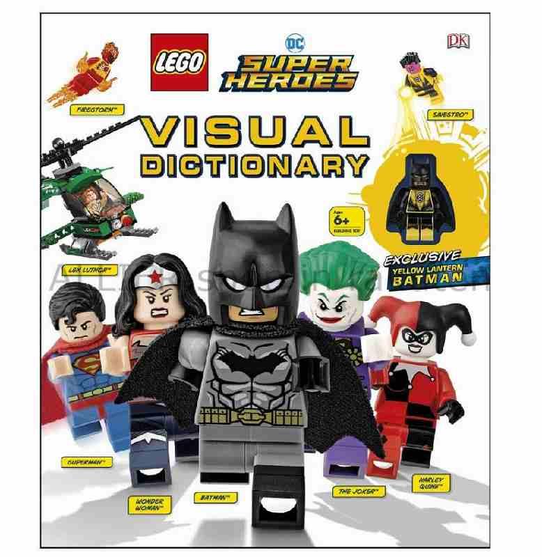 LEGO レゴブロック No.5005730_LEGORDC Super Heroesビジュアル辞書LEGOR DC Super Heroe
